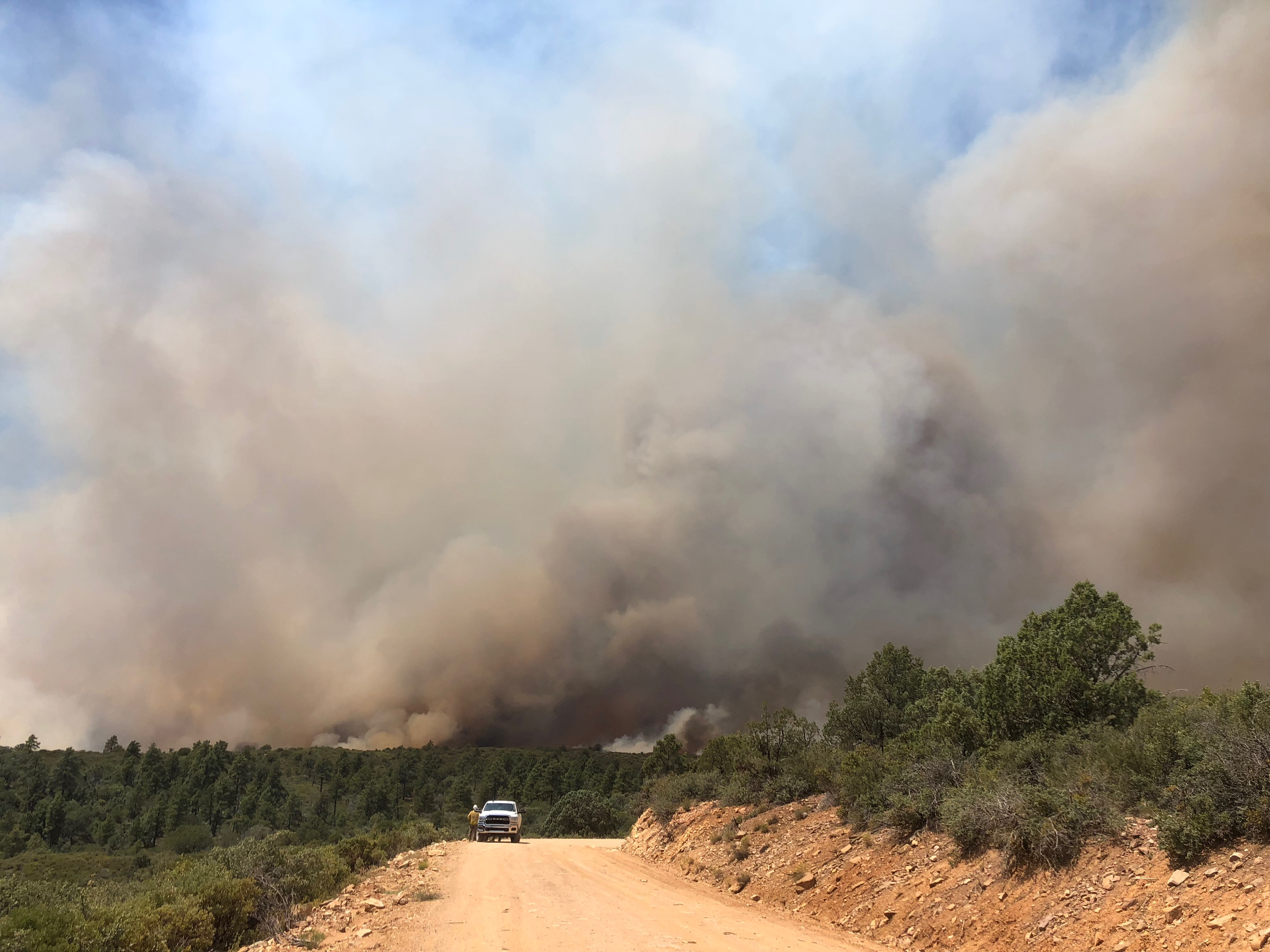 Sheridan Fire - Aug. 22, 2019