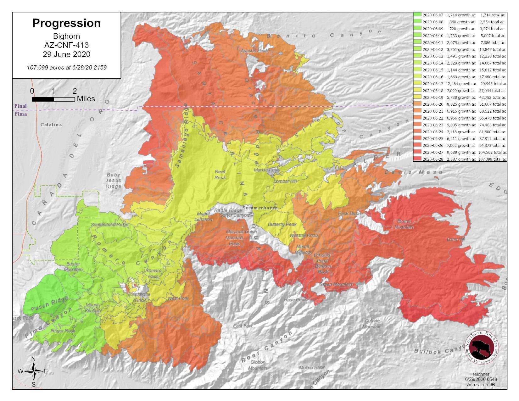 Bighorn Fire 6-29-20