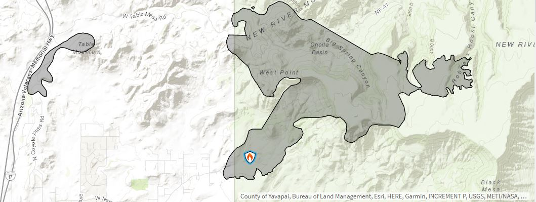 Central Fire Map 6-29-20