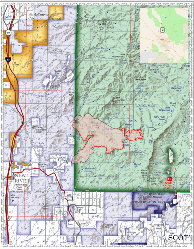 Central Fire map 6-24-20