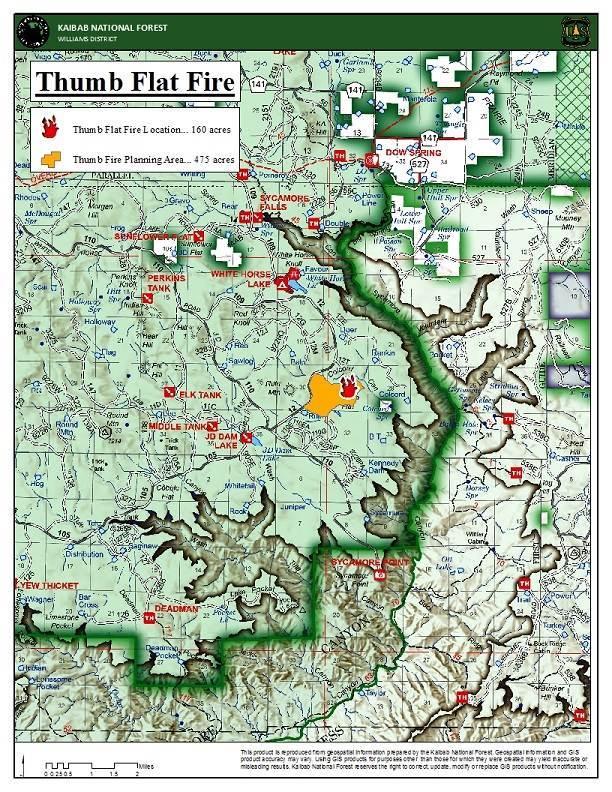 Thumb Flat Fire Map 4-30-21