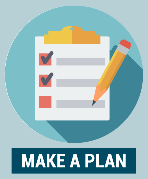 Make a plan icon